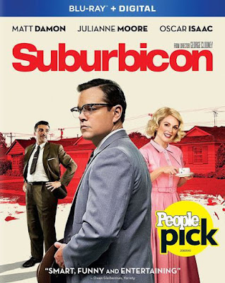 Suburbicon 2017 Eng BRRip 480p 300Mb ESub x264