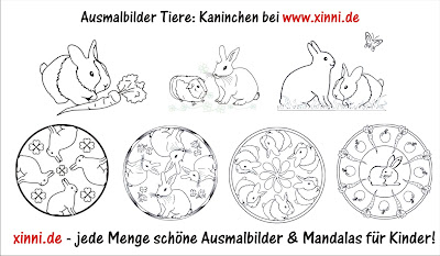 Malvorlagen Zum Ausmalen Ausmalbilder Kaninchen Ausmalbilder Tiere