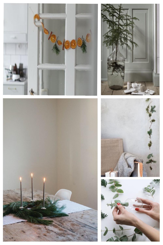 minimal christmas decorations