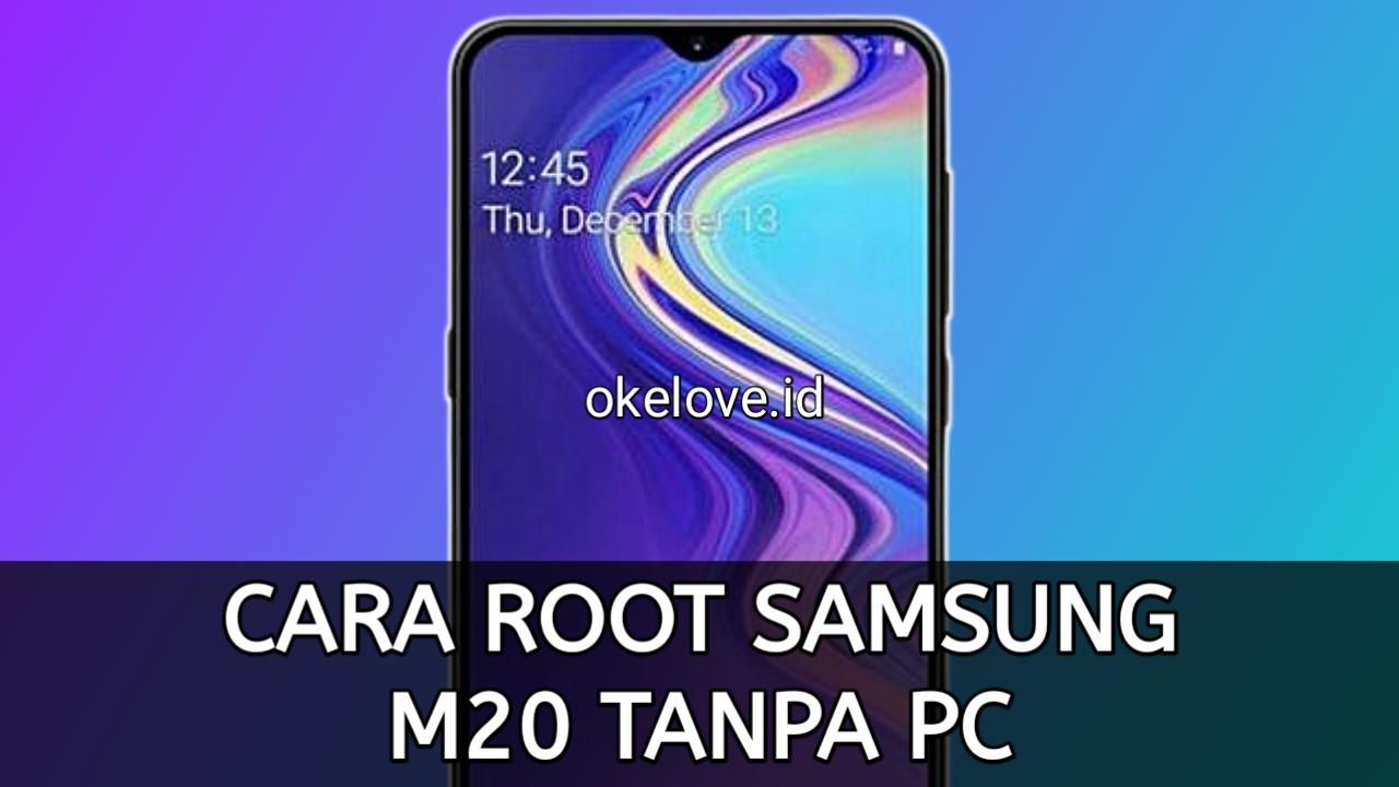 Cara Root Samsung M20 Tanpa PC