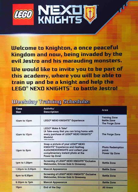 CelesteChoo.com: Power Up with Lego Nexo Knights at MidValley