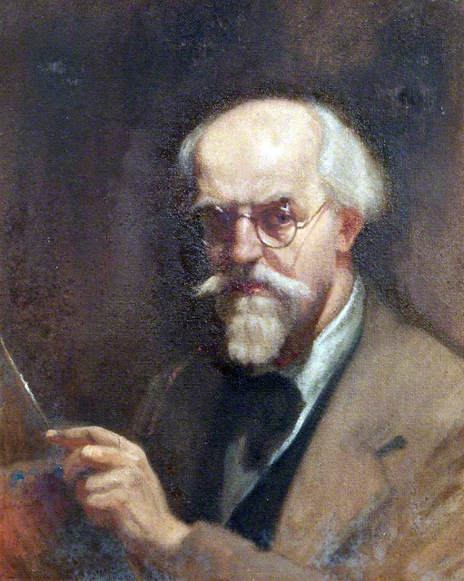 Haydn Reynolds Mackey, Self Portrait, Portraits of Painters, Fine arts, Haydn Reynolds