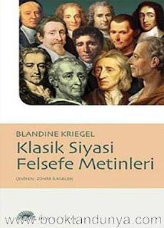 Blandine Kriegel – Klasik Siyasi Felsefe Metinleri