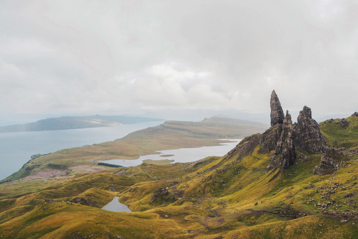 Randonnée à The Old man of Storr sur l'île de Skye en Ecosse
