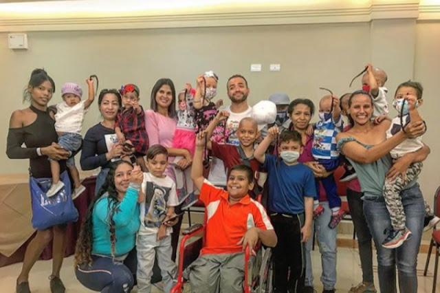 Nacho donó su cabello (pero no dinero) a los niños con cáncer de Valencia