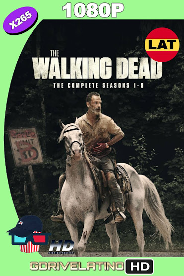 The Walking Dead Temporada 01 al 09 BDRip 1080p x265 Latino-Ingles MKV