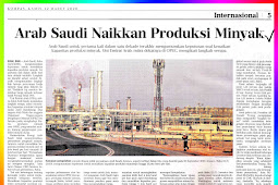 Saudi Arabia Increases Oil Production.