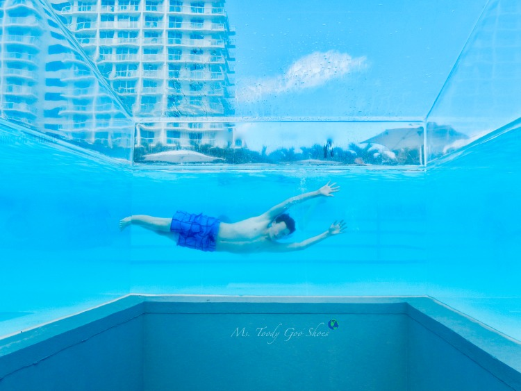 W Hotel in Ft. Lauderdate has a human aquarium! | Ms. Toody Goo Shoes