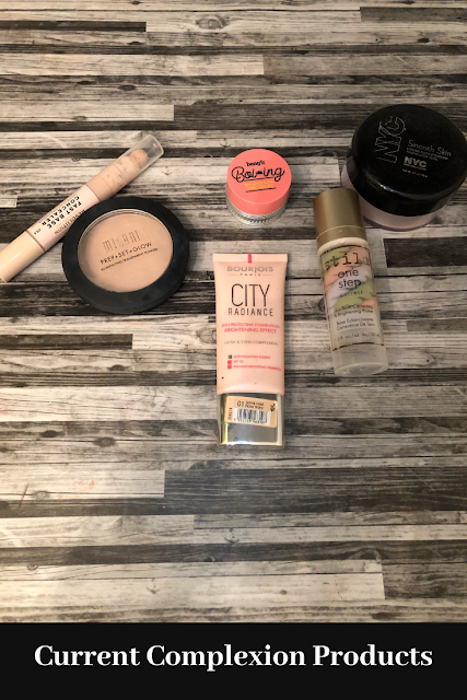 Current Complexion Products Winter, Dry Skin Edition