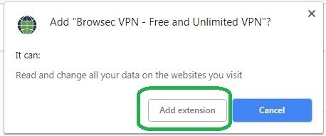 Cara Mengakses Situs yang Diblokir Internet Positif Di Google Chrome Dengan Browsec Di PC 5