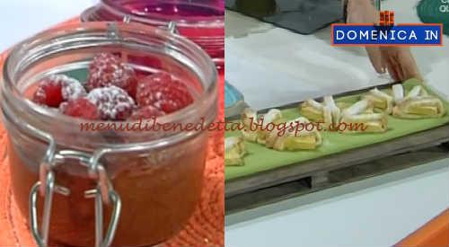 Domenica In - Mousse lampo al cioccolato ed ananas in frolla ricetta Parodi