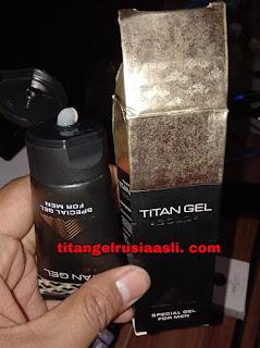titan gel gold asli atau palsu di sentani