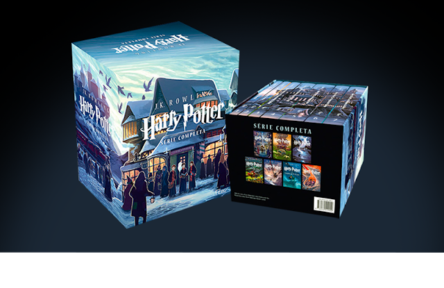 harry potter serie completa