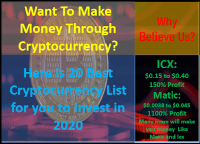 Cryptocurrency you should invest in 2020