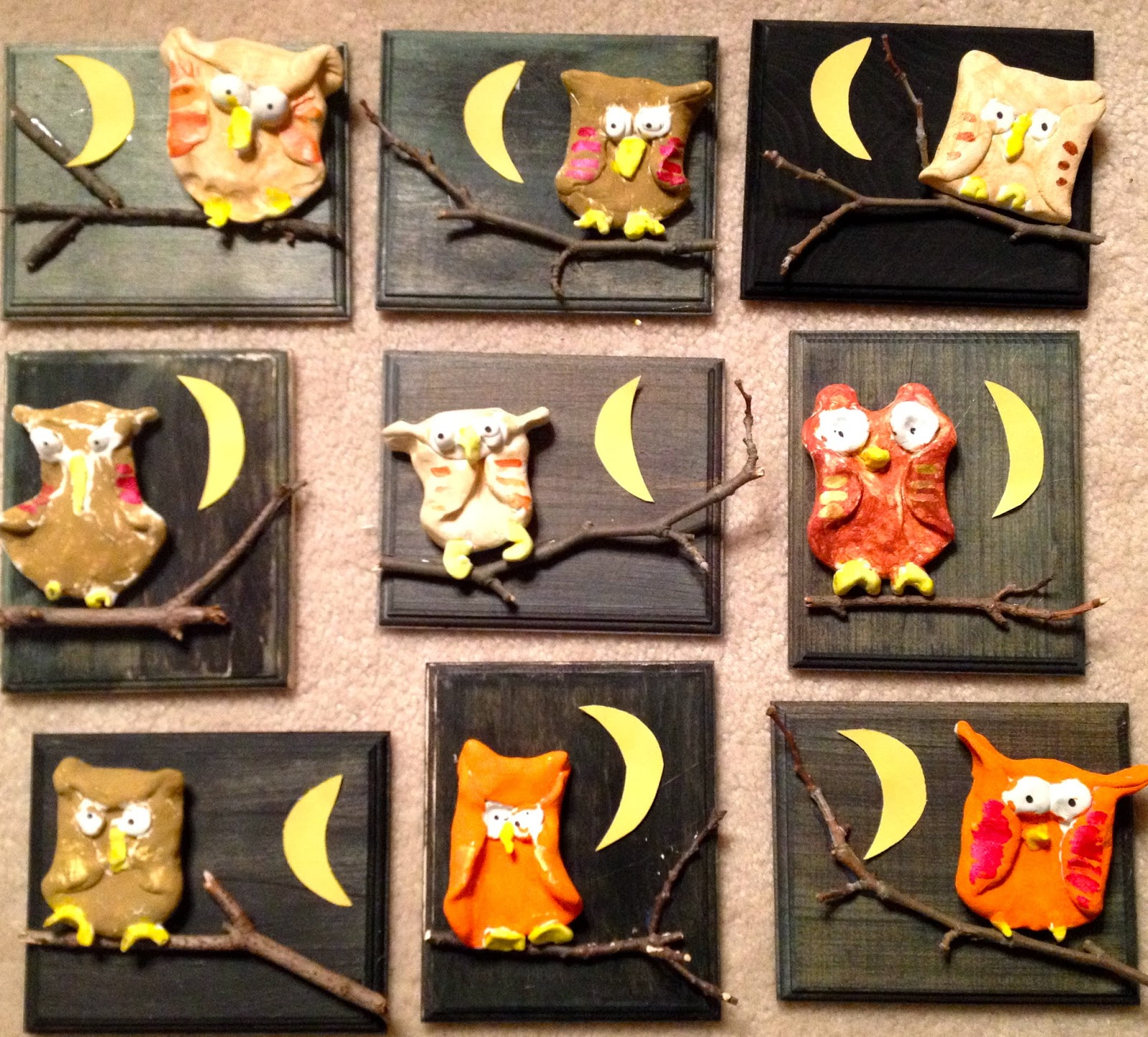 Owl Art Projects For First Graders