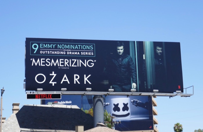 Ozark 2019 Emmy nominee billboard