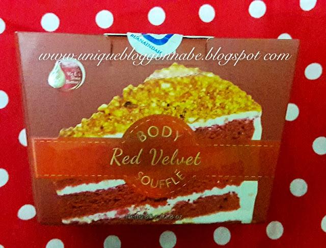 Selina body souffle Red velvet 2
