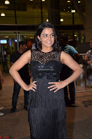 Wamiqa Gabbi in a sleeveless Black Designer Transparent Gown at 64th Jio Filmfare Awards South ~  Exclusive 050.JPG
