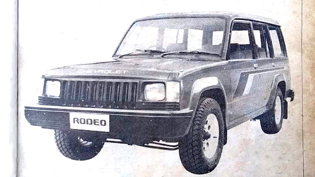 Chevrolet LUV karoseri Rodeo