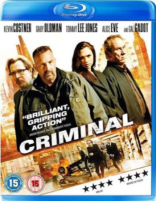 Criminal (2016) Dual Audio [Hindi 5.1 – Eng 5.1] 1080p BluRay ESub x265 HEVC 1.5Gb
