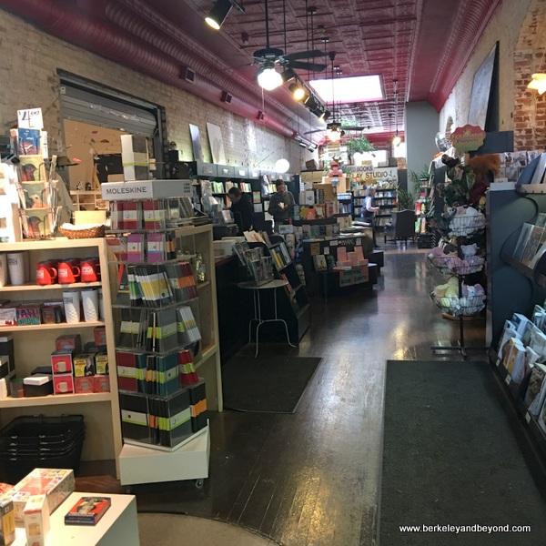 interior of Taylor Books in Charleston, West Virginia
