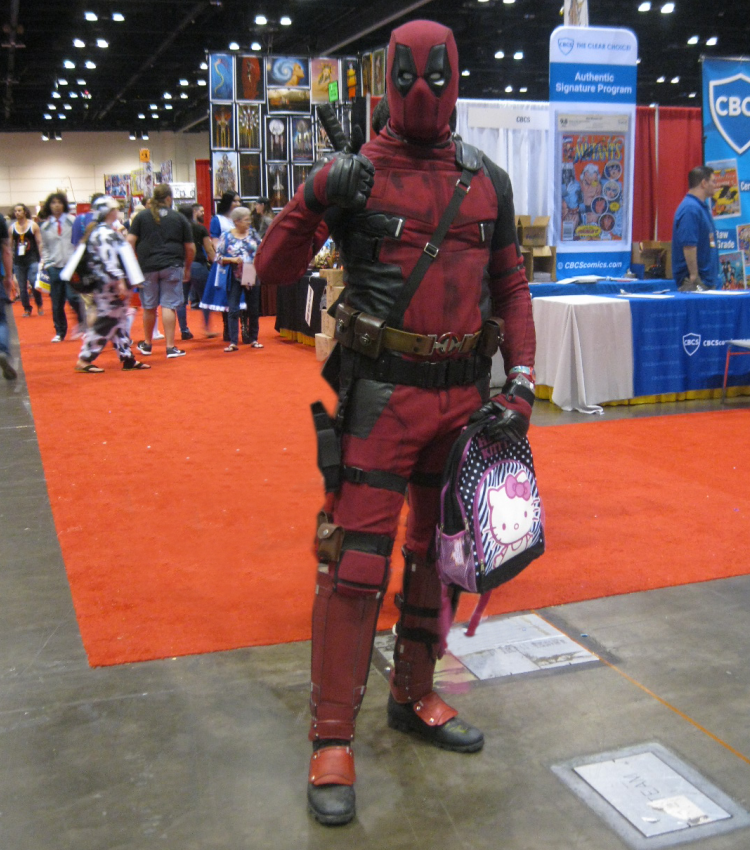 Deadpool Cosplay MegaCon Orlando 2018
