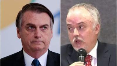 Bolsonaro e Carlos Fernando dos Santos Lima
