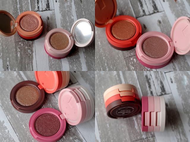 Kaja Beauty Bento Bouncy Shimmer Eyeshadow Trio