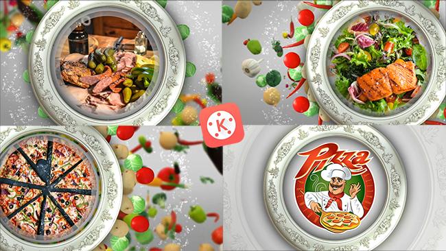 تصميم مقدمة فيديو طبخ احترافية بواسطة كين ماستر    Intro cooking