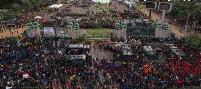 Polisi: Perusuh Demo Bukan Mahasiswa, Polanya Mirip 22 Mei