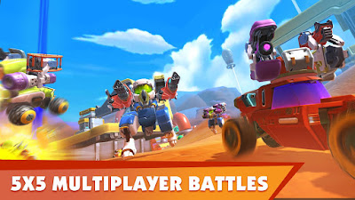 Turbo Squad: Build and Battle Apk for Android