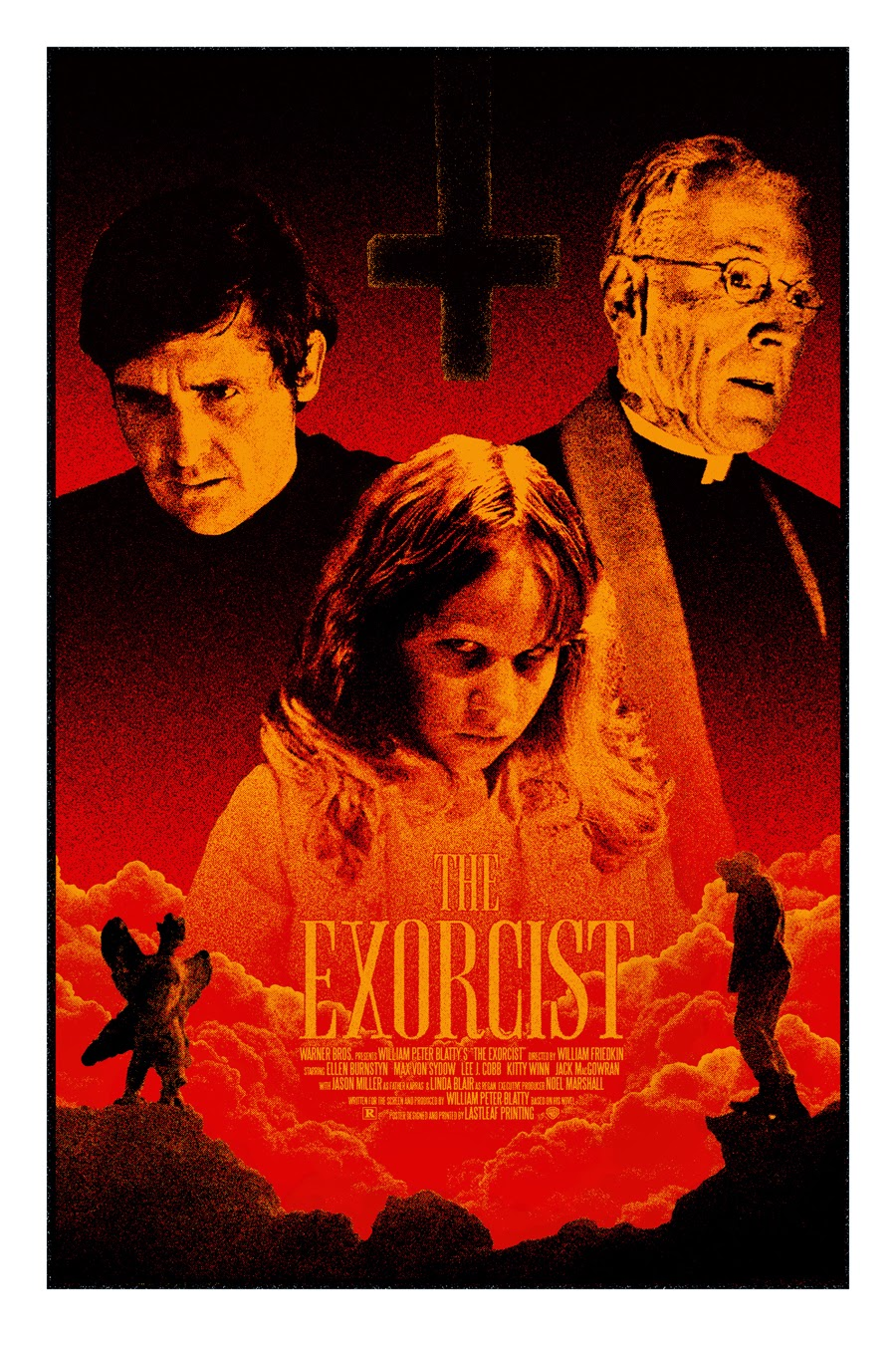 Inside The Rock Poster Frame Blog The Exorcist Movie
