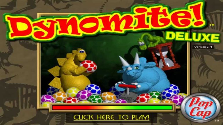 Dynomite Deluxe: Game Bắn Trứng Khủng Long
