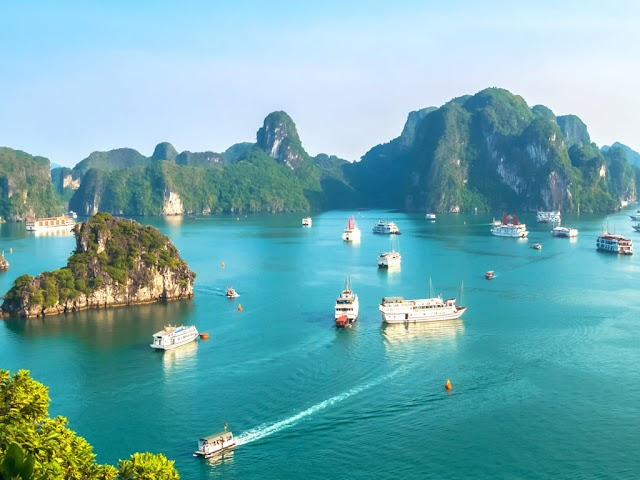 Vietnam has the world's most beautiful discovery cruise