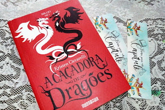 [Resenha]: A Caçadora de dragões - Kristen Ciccarelli