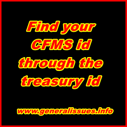 How To Know Your Latest Cfms Id Through Your Treasury Id Generalissues Teachers Info