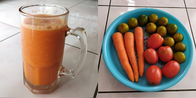 Hasil gambar untuk jus mix wortel tomat jeruk