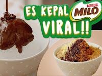Resep Es Kepal Milo Malaysia, Asli Bikin Mulut Meleleh