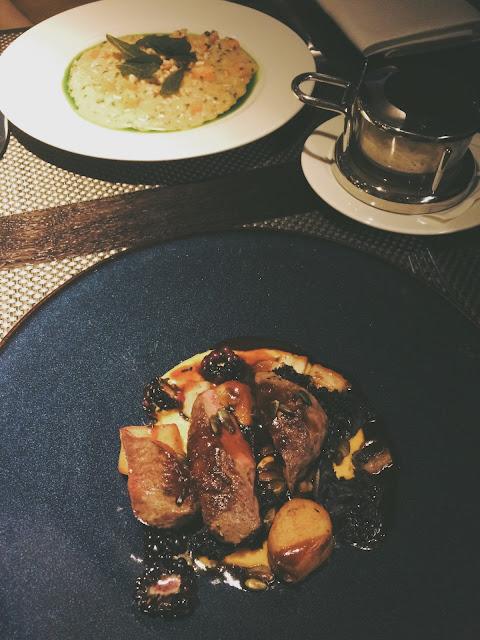 main, glasgow food, roast loin of venison, where to eat in glasgow, dakota deluxe restaurant, glasgow restaurant, fine dining, best places to eat in glasgow,