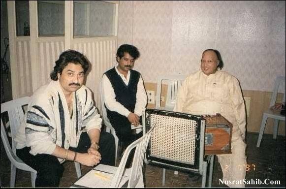 Nusrat Fateh Ali Khan Sahb Ji, Nadeem Salamat & Kumar Sanu