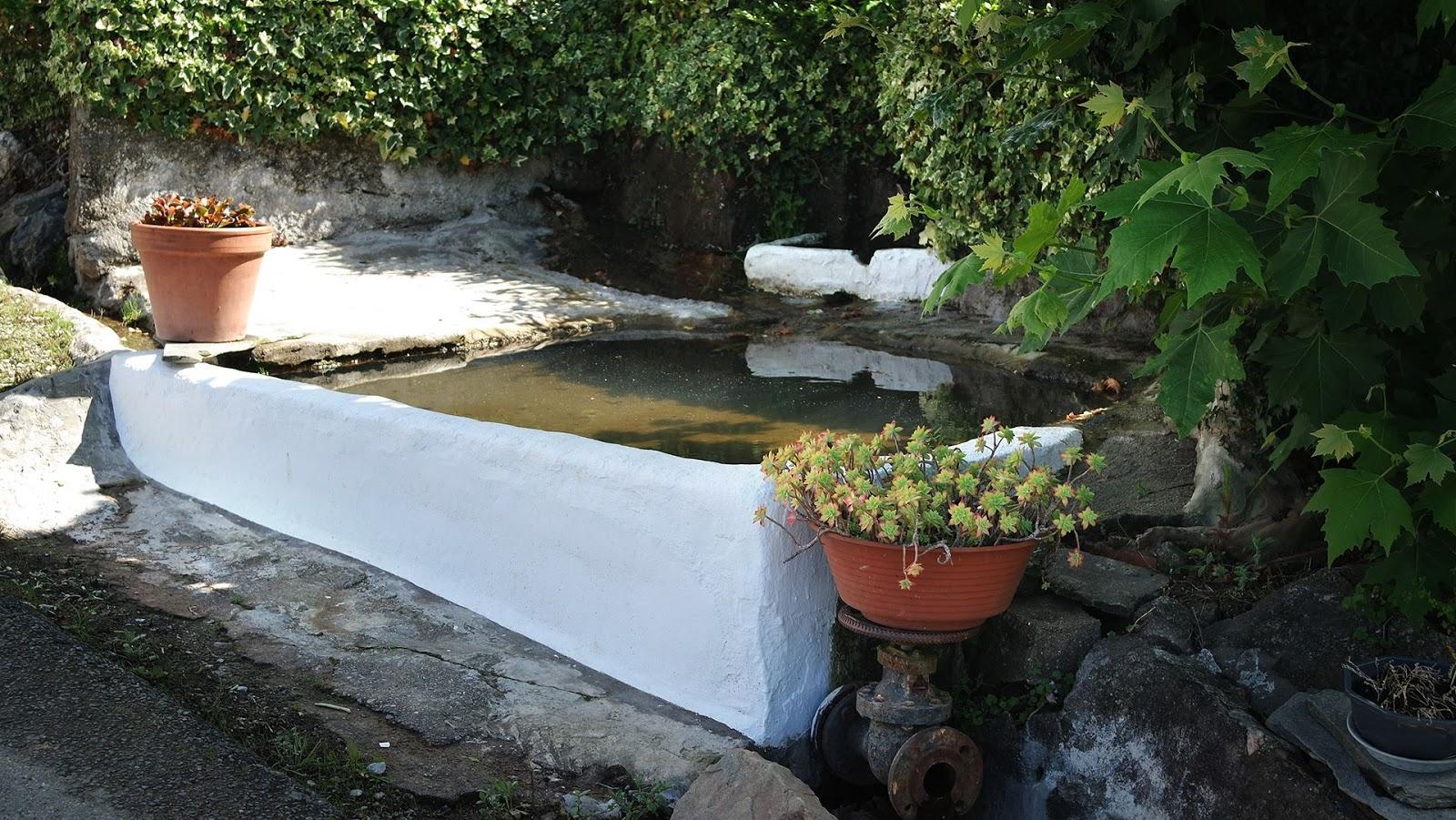 small Basque fountain