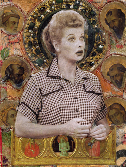 Celebrity Icon collage -- I Love Lucy