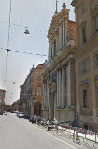 The church of San Vincenzo in Modena, where Virginia is buried
