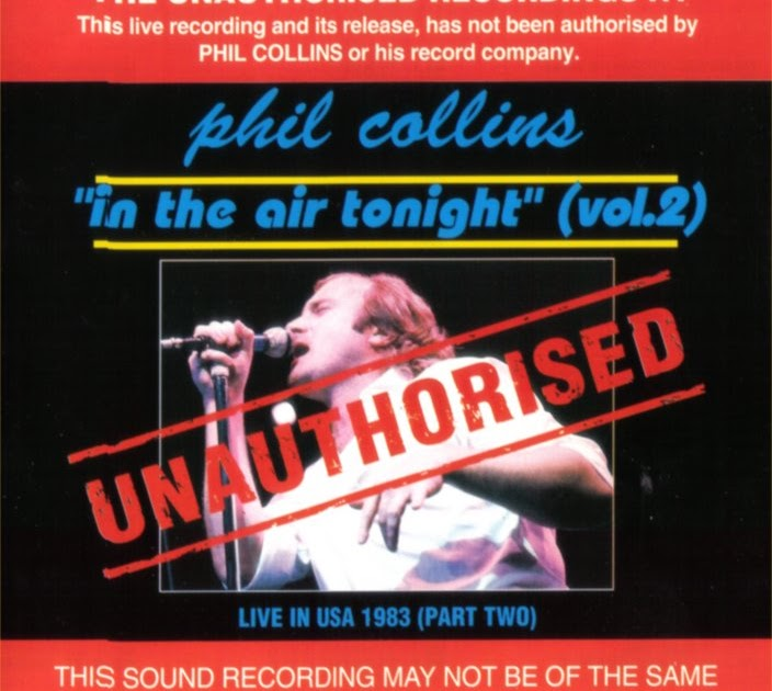 Rock On Vinyl Phil Collins Unauthorised Vol 2 In The