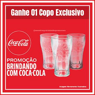 Ganhe 01 Copo Exclusivo da Coca-Cola