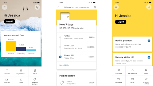 App Mobile de CommBank