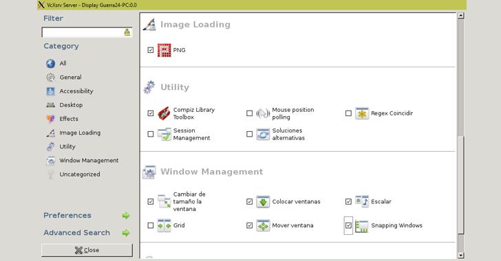 Ubuntu Linux GUI Bash Windows 10