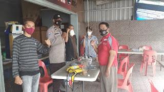 Tingkatkan Sambang, Bhabinkamtibmas Melayu Ajak Warga Jaga Kamtibmas Pilkada Serentak dan Patuhi Prokes