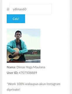 Cara Cek User ID Instagram
