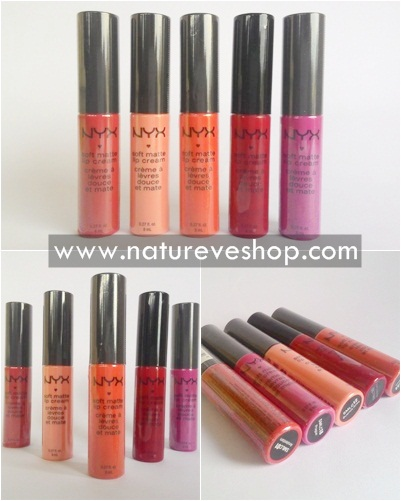 NYX Soft Matte Lip Cream (SMLC) Original USA